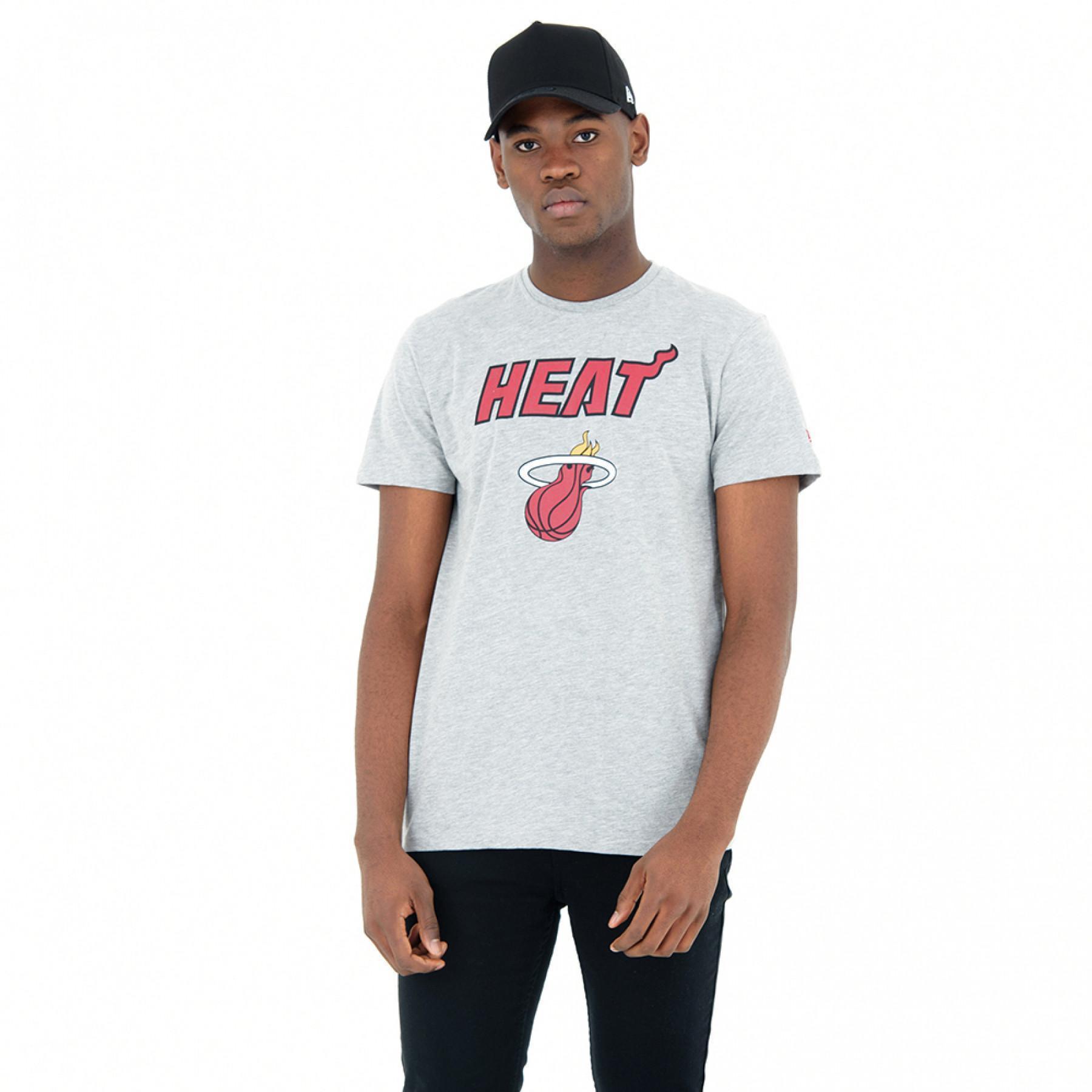 T-shirt chiné Miami Heat