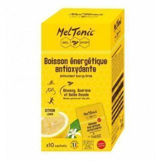 10 Sachets de boisson énergétique antioxydante Meltonic - Citron