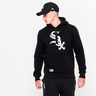 Sweat à capuche New Era avec logo de l'équipe Chicago White Sox