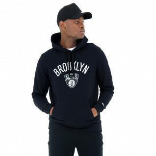 Sweat à capuche New Era Brooklyn Nets