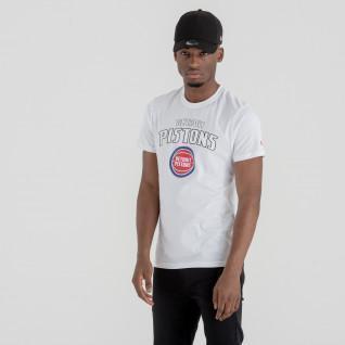 T-shirt New Era logo Detroit Pistons