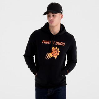 Sweat à capuche New Era avec logo de l'équipe Phoenix Suns