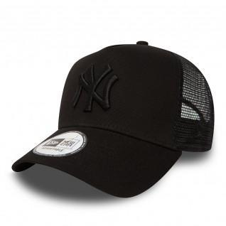 Casquette New Era clean trucker New York Yankees