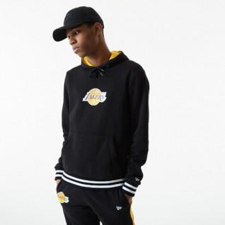 Sweat à capuche New Era NBA Varsity Detail Los Angeles Lakers
