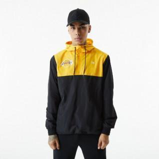 Veste coupe vent New Era NBA Colour Block Los Angeles Lakers