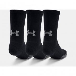 Lot de 3paires de chaussettes montantes junior Under Armour HeatGear® Crew