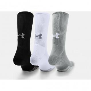Lot de 3 paires de chaussettes montantes Under Armour HeatGear® Crew