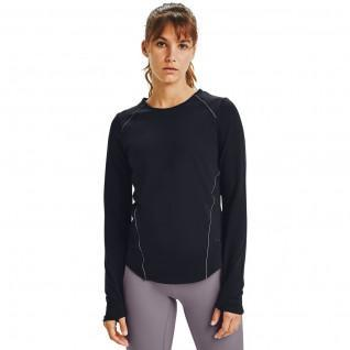 Maillot femme Under Armour à manches longues HydraFuse Crew