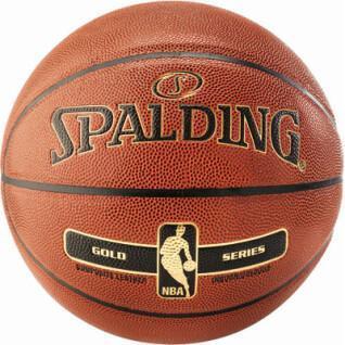 Ballon de basket Spalding Nba Gold indoor/outdoor
