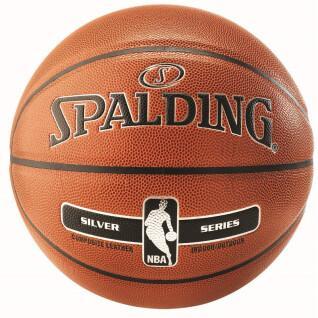 Ballon Spalding Nba Silver In/Out