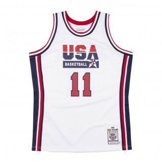 Maillot domicile authentique Team USA Karl Malone 1992
