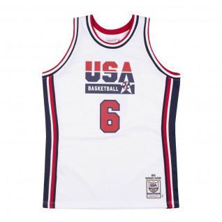Maillot domicile authentique Team USA Patrick Ewing 1992