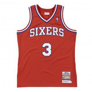 Maillot authentique Philadelphia 76ers Allen Iverson 2002/03
