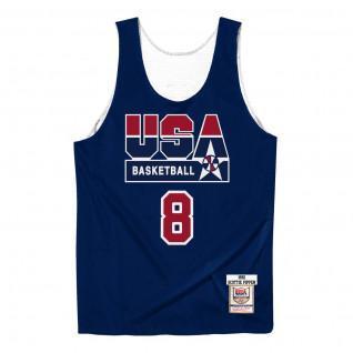 Maillot authentique Team USA reversible practice Scottie Pippen