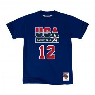 T-shirt USA name & number John Stockton