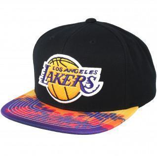 Casquette Mitchell & Ness Team Arch Tone Lakers
