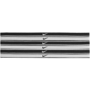 Pack de 6 élastiques à cheveux Nike Swoosh tipped