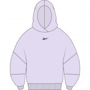 Sweatshirt à capuche femme Reebok Retro Oversize Grande Taille