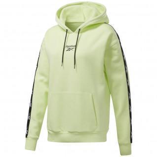 Sweatshirt à capuche femme Reebok Training Essentials Tape Pack