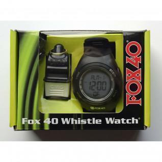 Coffret montre chrono + sifflet Fox Sonic