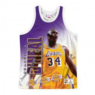 Maillot Los Angeles Lakers behind the back