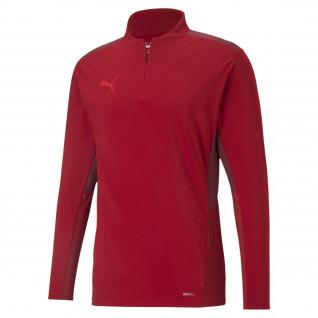 Sweatshirt 1/4 zip Puma TeamCup