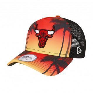 Casquette New Era NBA Chicago Bulls trucker summer city