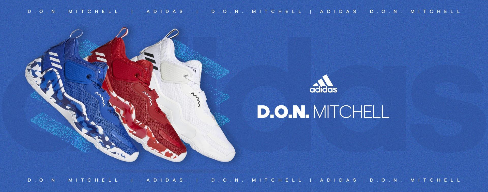 Chaussures de basketball adidas D.O.N. Mitchell